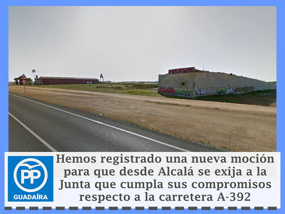 Empresarios y comerciantes de Alcalá junto al PP trabajando para finalizar la Ctra. de Dos Hermanas – 2aPARTE