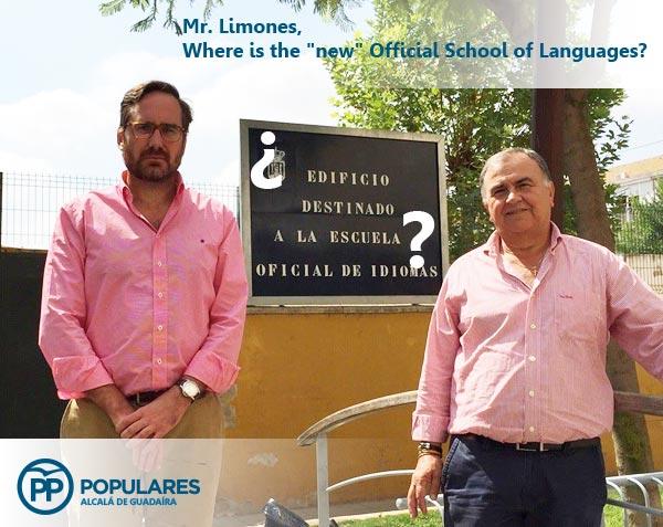 ¿Edificio destinado a la Escuela Oficial de Idiomas?