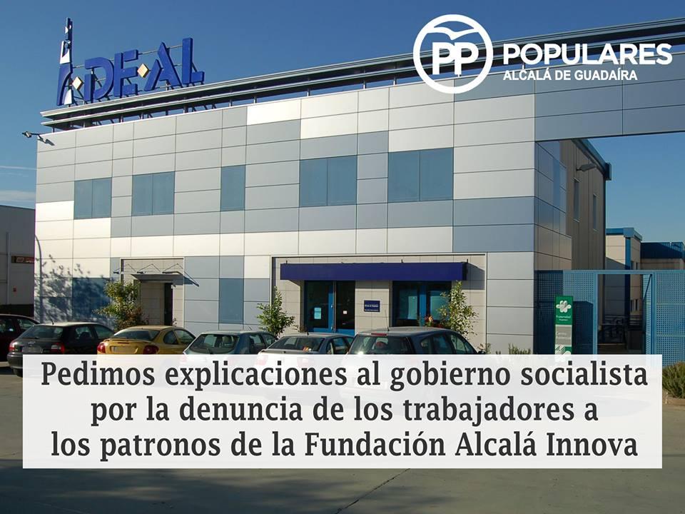 Empleados de la Fundación del Ayuntamiento de Alcalá denuncian a los patronos