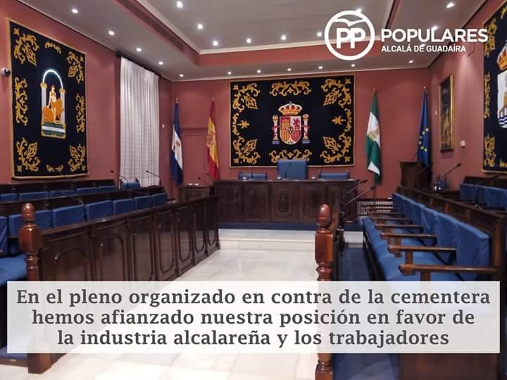 PP de Alcalá afianza su posición en favor de la industria alcalareña y los trabajadores