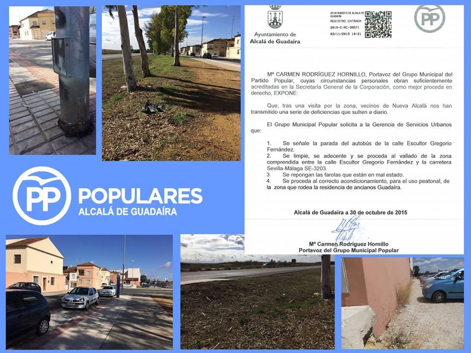 Numerosas quejas de los vecinos de Puerta de Alcalá.