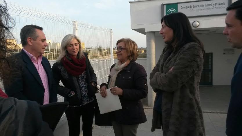 En CEIP «El Polvorón» reclamamos el inicio de las obras para las aulas