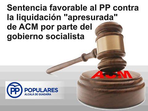 Un Juez confirma que el PSOE de Alcalá cerró ACM sin informar lo debido a los alcalareños