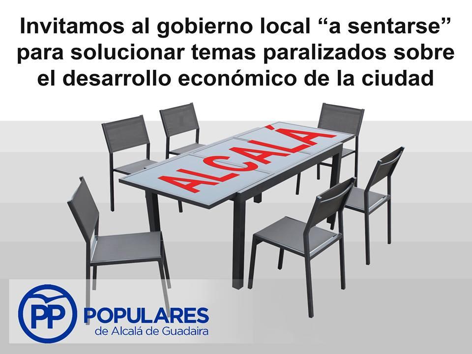 Proponemos al PSOE enfrentar seriamente los grandes problemas de Alcalá mediante un consenso político