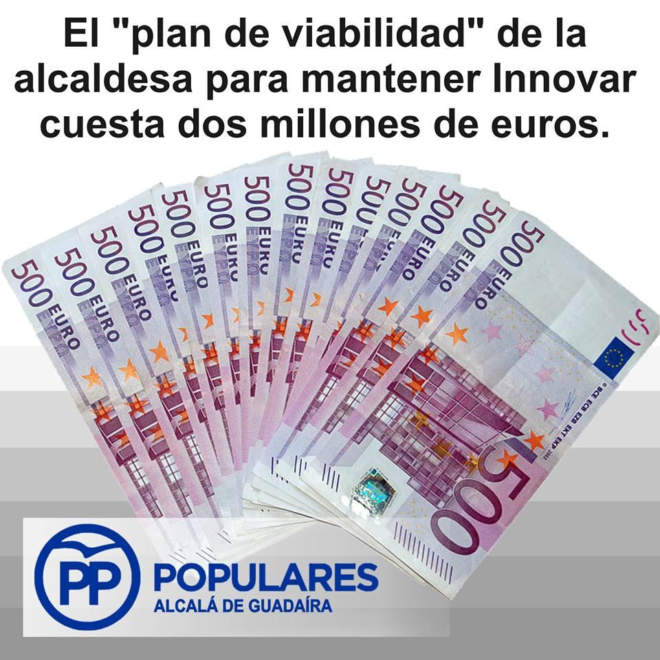 Gastar nuevamente dinero en salvar otra empresa del PSOE en Alcalá