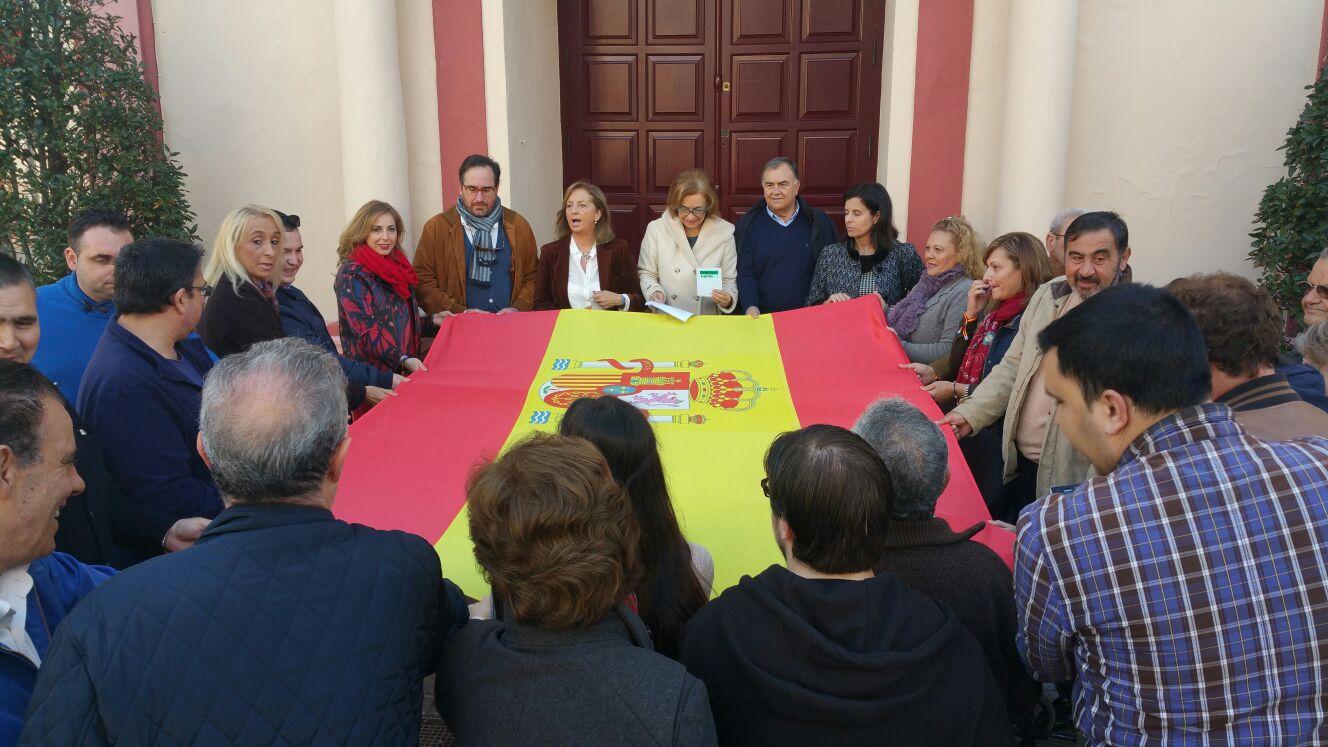 Celebramos «La Constitución» en la puerta del Ayuntamiento