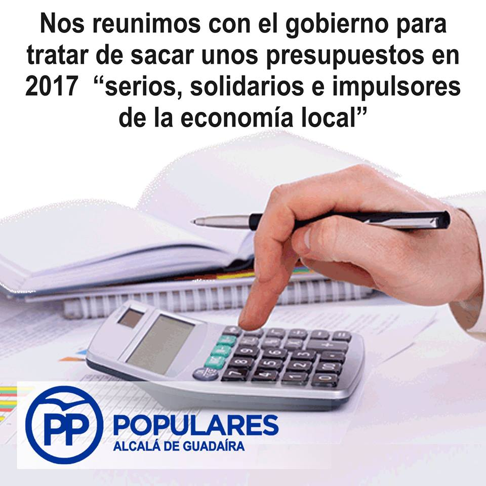 Siendo constructivos y dialogantes, intentaremos corregir los desajustes del PSOE en los presupuestos de 2017