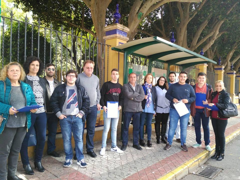 Recogida de firmas en CHANGE.ORG pidiendo Autobús lanzadera para estudiantes de Alcalá – Universidad Pablo de Olavide