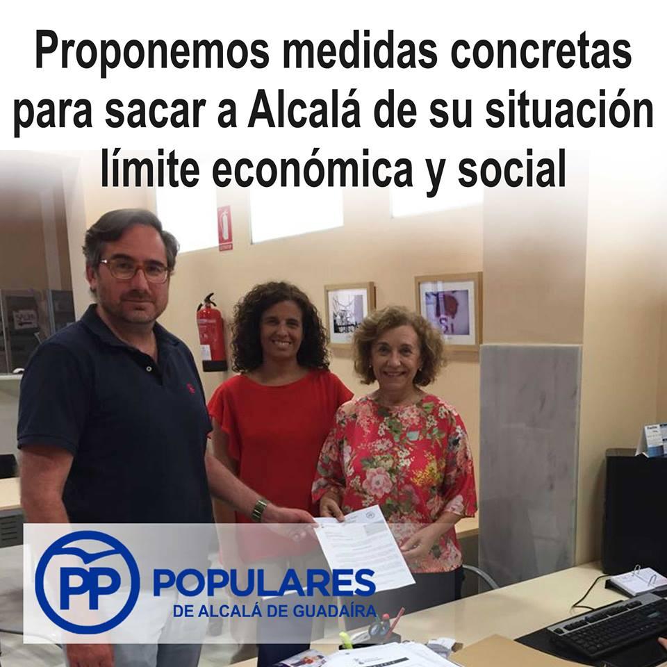 Alcalá no puede ser la segunda ciudad más pobre de España. Tomemos medidas.