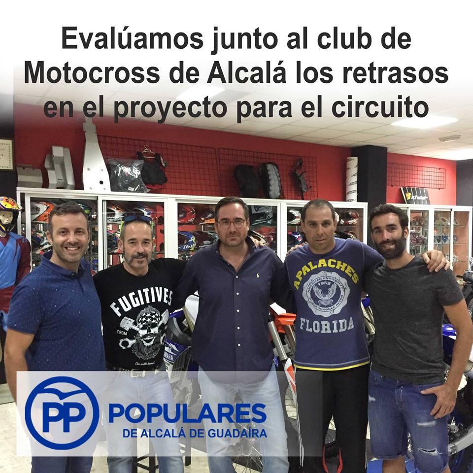 El circuito de motocross de Alcalá está cercano pero sufre retrasos injustificados
