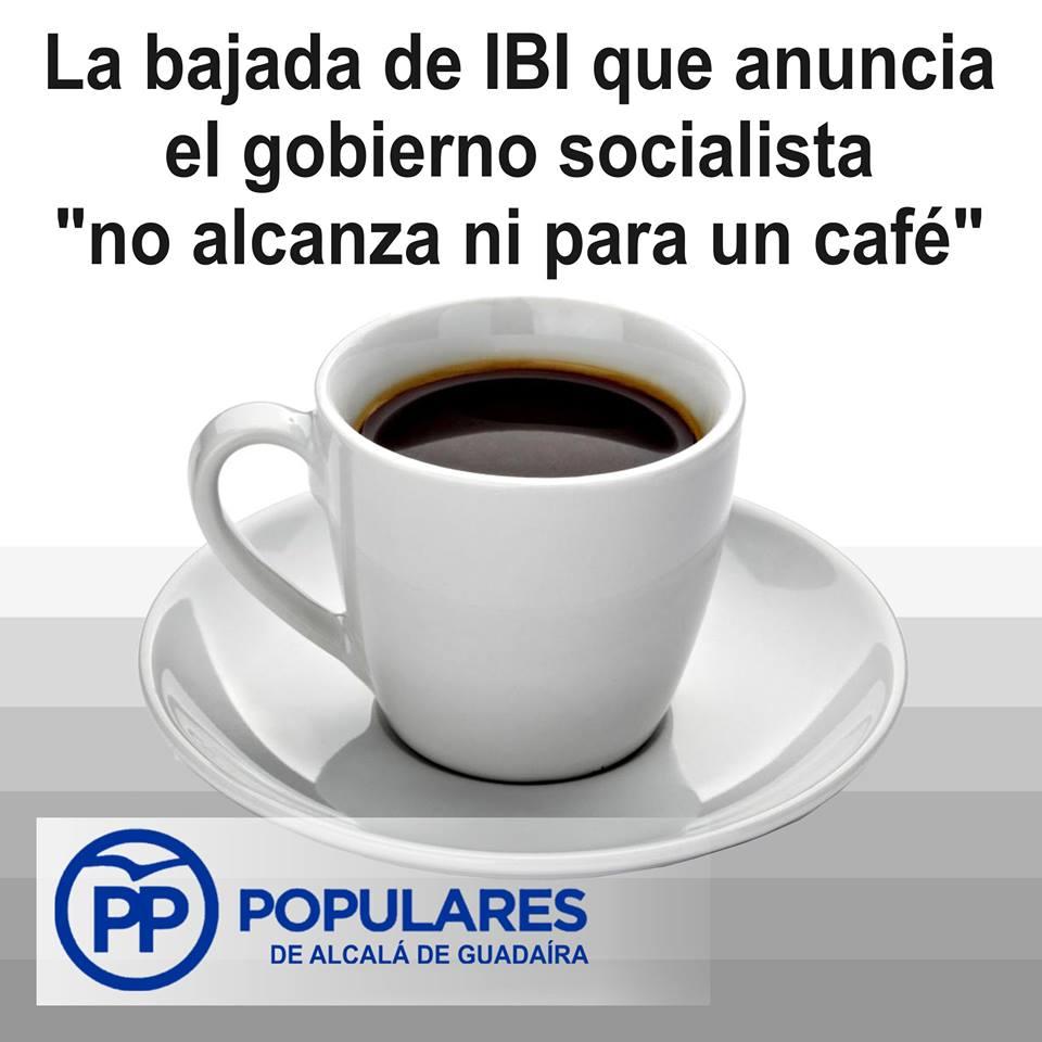 Queremos que sea correcta la tercera bajada del IBI que conseguimos forzar al PSOE