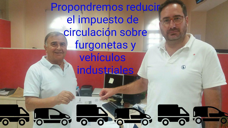 Defendemos lo acordado en apoyo a autónomos y pymes de Alcalá en el impuesto sobre vehículos profesionales