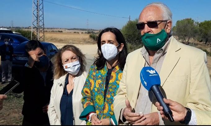La Junta repara de urgencia 1,5 km de la A-360 Alcalá-Morón y anuncia que renovará 18 km de esta carretera en 2021