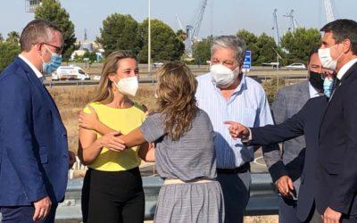 """Jiménez (PSOE) aprovecha la visita de la ministra de Movilidad a Sevilla sólo para """"hacerse la foto"""" y no exigirle ningún beneficio para Alcalá"""